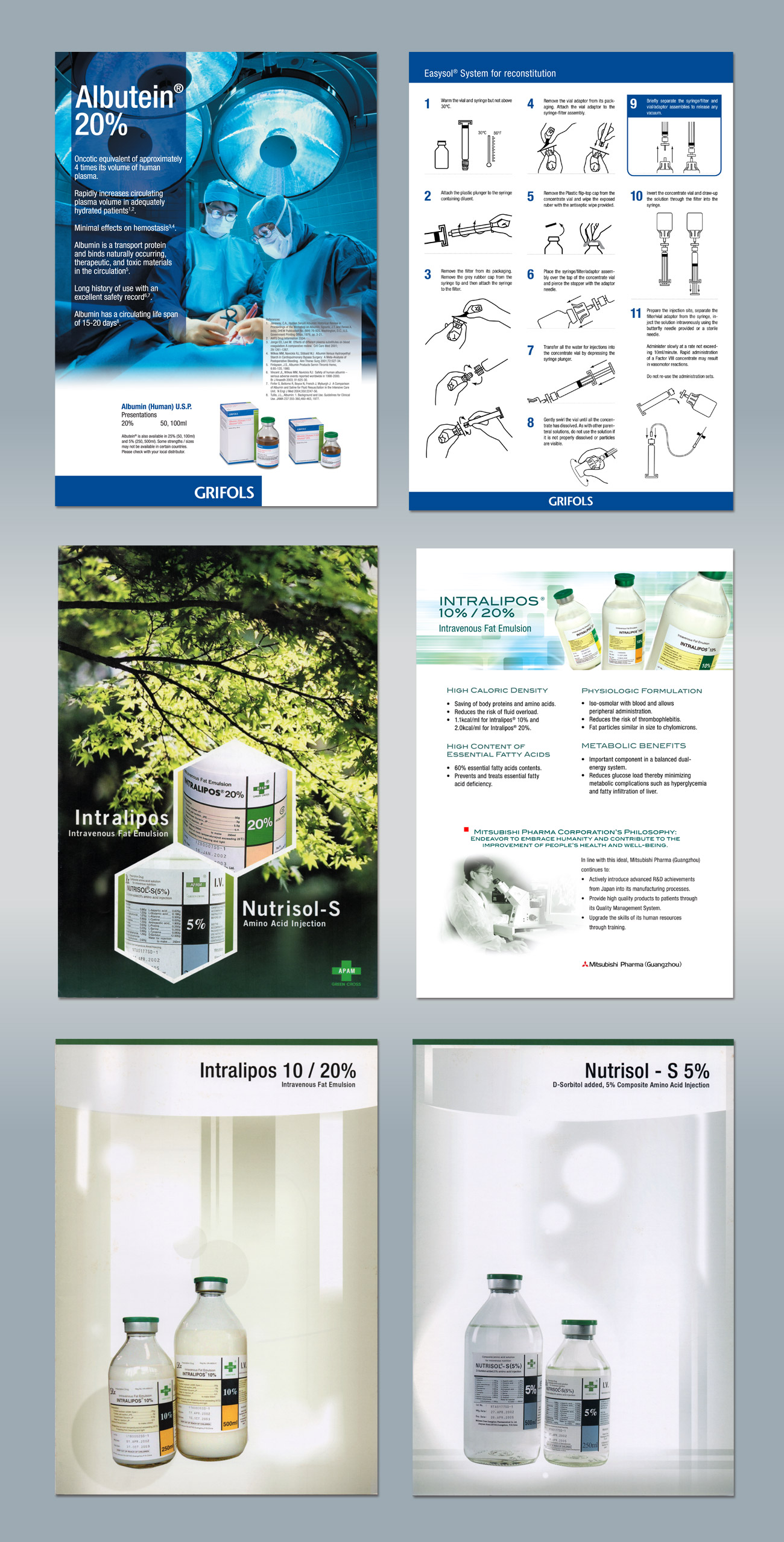 Product Brochure Design Portfolio