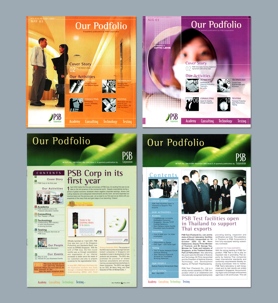 Corporate Newsletter Production, Ease Communications